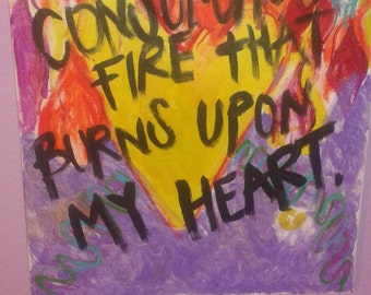 He is a Consuming Fire.
