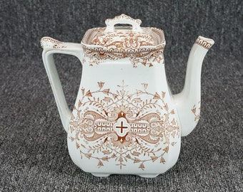 Vintage Boote, T&R Tournay Bone China Tea Pot And Lid