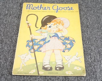 Vintage Mother Goose By Ruth Newton C. 1934