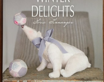 Tilda's Winter Delights by Tone Finnanger Gorgeous Angels,  Santas, Christmas stockings,  polar bears Christmas gifts to make.