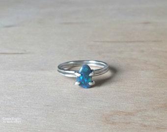 opal wedding ring etsy