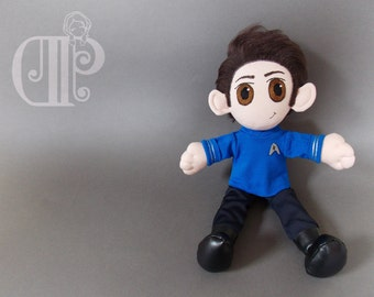 Leonard 'Bones' McCoy Star Trek Beyond Plush Doll Plushie Toy [READY TO SHIP]