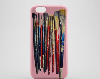 Artist Paint Brushes Phone case,  iPhone X Case, iPhone 8 case,  iPhone 6s,  iPhone 7 Plus, IPhone SE, Galaxy S8 case, Phone cover, SS136c