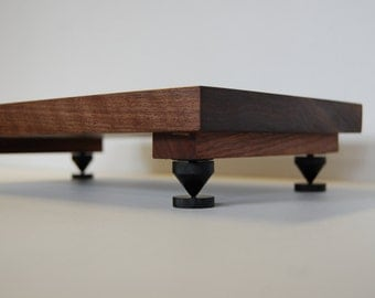 Audiophile Walnut Isolation Platform - Speaker - Amp - Turntable