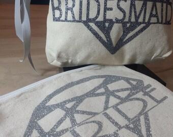 Kit for bridesmaid and bride et flocking sparkles.
