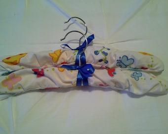 Baby boy padded coat hangers