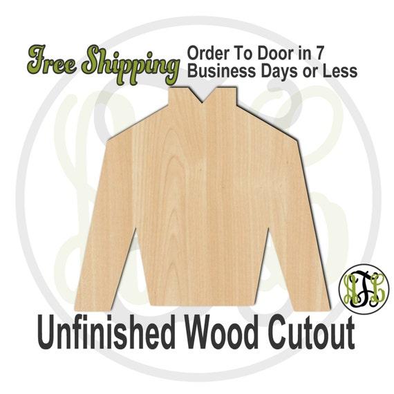 "Jockey Silk- 2"" to 6"" Minis- 60019- Small Wood Cutout, unfinished, wood cutout, wood craft, laser cut, wood cut out, ornament"