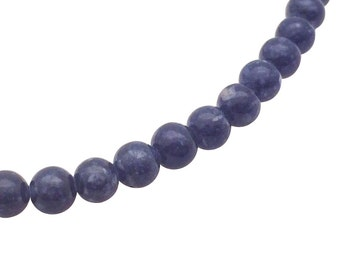 4mm Fossil Beads Grey Round Beads Fossil 4mm Grey Beads 4mm Beads Grey Stone Grey Beads 4 mm Beads