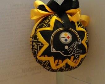 Pittsburgh Steelers Football Christmas Ornament