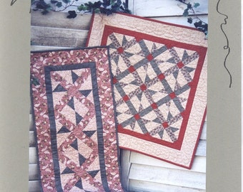 Bits & Pieces - #205 Whirli-gig - Wallhanging and Tablerunner