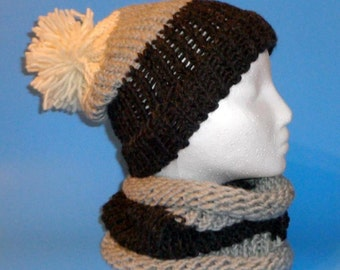 Winter Hat and Neck Scarf