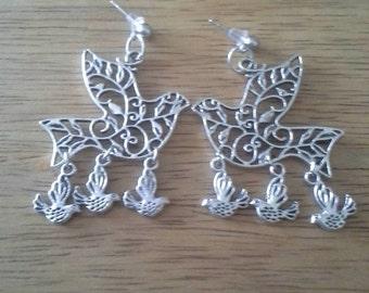 Partridge Family Earrings