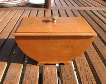 Wooden Lidded Box