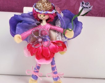 Handmade by Christine's Boutique - Acorn Fairy Doll Give her a name