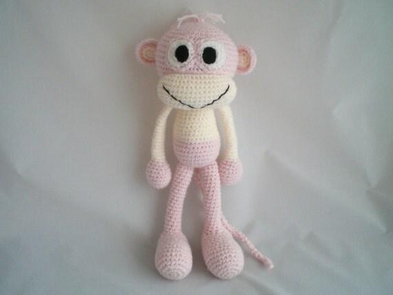 Crochet Monkey / Crochet Amigurumi Cheeky Monkey / Crochet