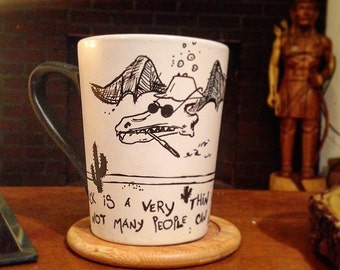 Hunter S. Thompson mug