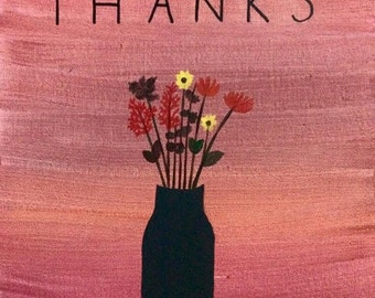 SALE***Give Thanks - 11 x 14 Wrapped Canvas