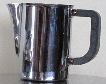 Vintage Stainless Steel Creamer