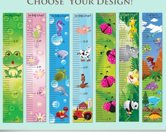 "Growth Charts - ""So Big Charts"" - Personalize your child's growth chart"