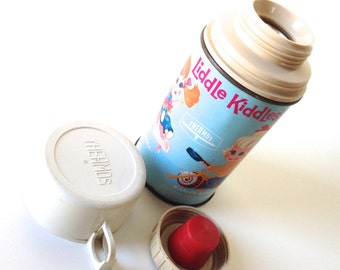 Vintage Liddle Kiddles Thermos 1968 Mattel, Inc.