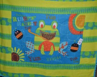 Crazy Frog Fleece Blanket