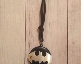 Batman Inspired Locket Necklace