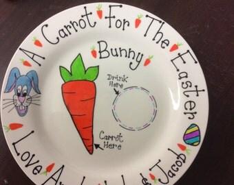 Personalised Easter Plate