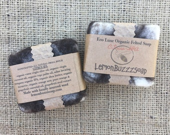 Citrus IPA Organic Felted Beer Soap+Beer Soap+Seed Paper+Artisanal Soap+Exfoliating+Organic Soap+Beer Lover+Gift For Her+Gift For Him