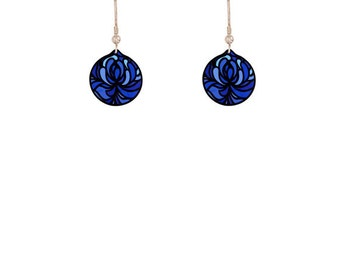 Blossom Blue Earrings
