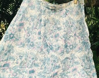 Vintage indian 70s skirt