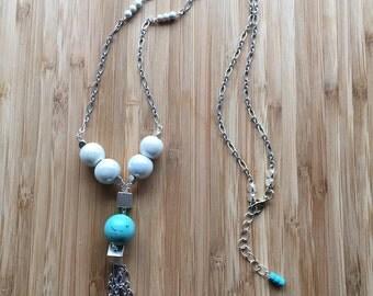 Tassle Chain Pendant Necklace