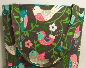 Pretty Bird Tote Bag, Pretty Bird Purse