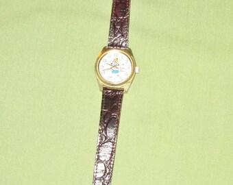 Vintage Swiss Miss Advertising Wrist Watch