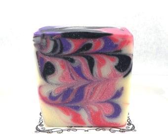 Black Raspberry Vanilla Handmade Soap Vegan