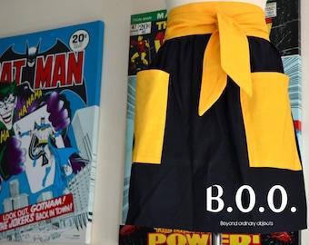 Superhero Bombshell Apron - Retro Batman