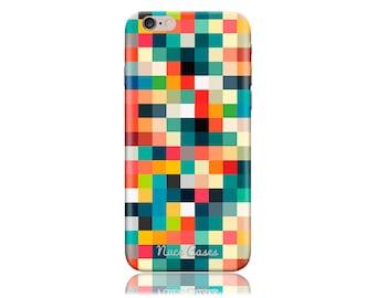 HTC One A9 Case #Pixel Cubes Cool Design Hard Phone Case