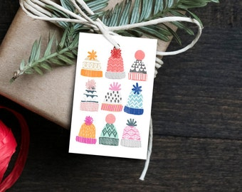 Gift tags-12 set no. 12 / pendant, gift, name pendant, label, gift labels, Christmas, DIY