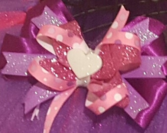 Doc Mcstuffins inspired bow