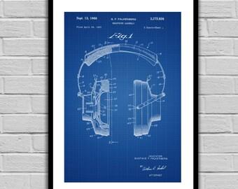 Headphones Patent, Headphones Poster, Headphones Blueprint, Headphones Print, Headphones Art, Headphones Decor