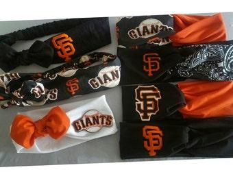 SF Giants headbands