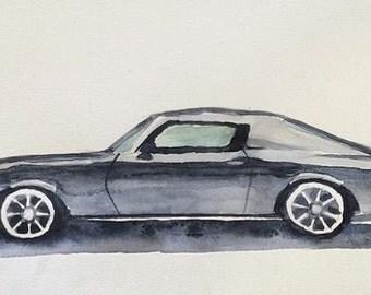 Camaro, Chevy Camaro, car painting