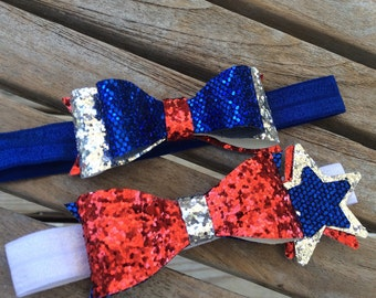 4th of July Headband Set. Use promo code JULY4th and get 25% off