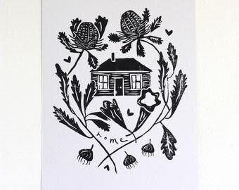 Art Print - Home
