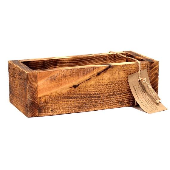 "Handmade Decorative 12"" Box --- Flintface Woodshop"