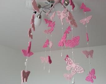 Butterflies, Mobille, Schmetterlingemobile, children's mobile. Boy / girl / teen / tween mobile