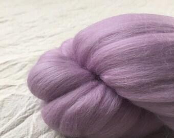 SALE Lavender - 50g Merino Wool Roving
