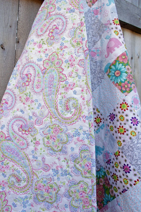 modern handmade quilts for sale items similar to toddler quilt baby quilt quilts for 9042