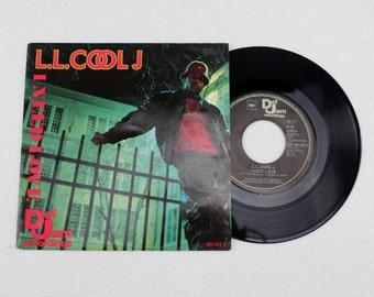 Vintage Record L . L . Cool J ----- ----- I Need Love 1987 Original record