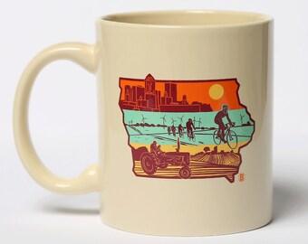 Layers of Iowa Mug