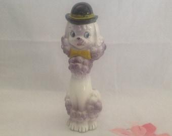 Vintage Poodle vase - Japan